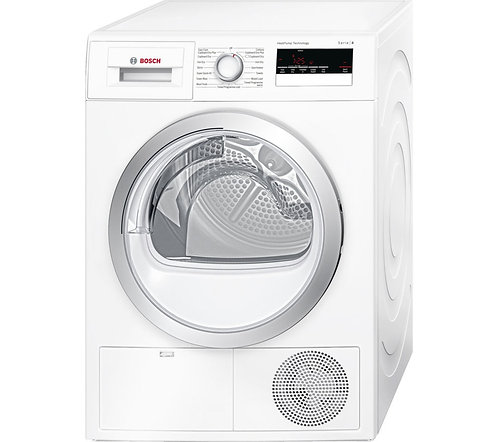 BOSCH WTH85200GB Serie 4  Heat Pump Tumble Dryer - White