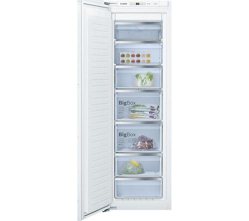 BOSCH GIN81AE30G Integrated Tall Freezer