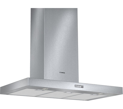 BOSCH DWB094W50B Chimney Cooker Hood - Stainless Steel