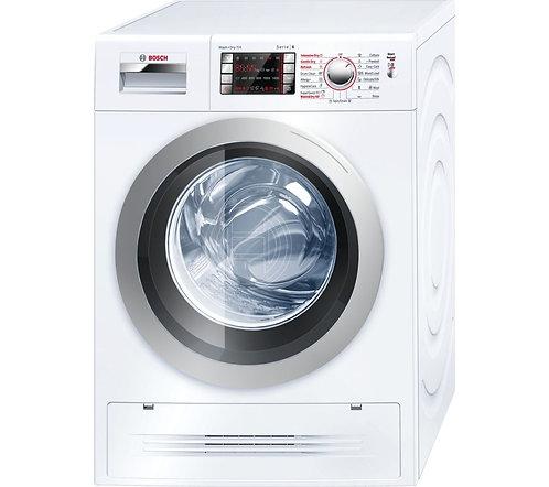 BOSCH WVH28422GB Washer Dryer - White