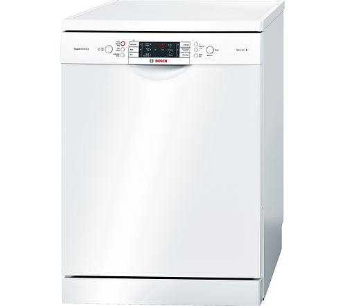 Bosch SMS69M22GB Serie 6 13 Place Dishwasher in White