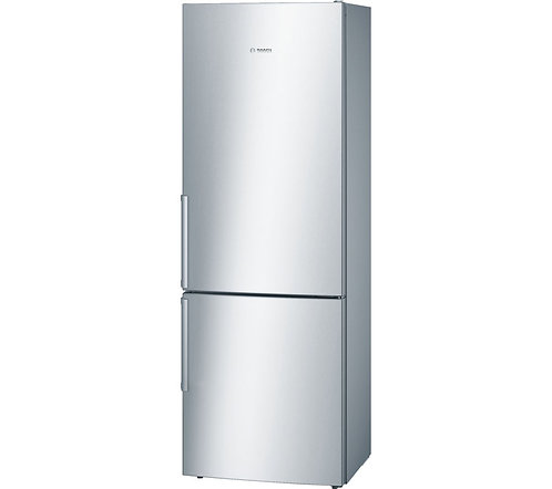BOSCH Serie 6 KGE49BI30G 70/30 Fridge Freezer - Silver