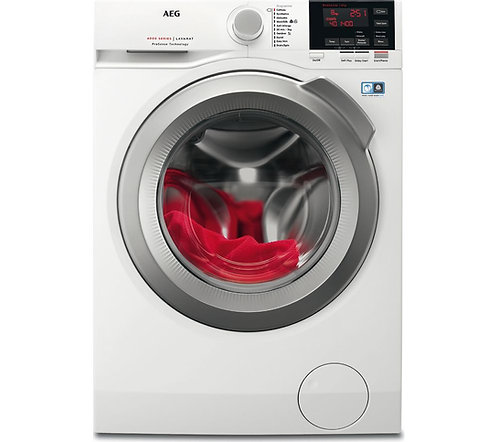 AEG ProSense L6FBG841CA Washing Machine - White