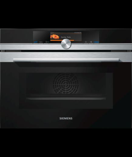 Siemens CM678G4S6B 60cm IQ-700 Pyrolitic Combination Microwave