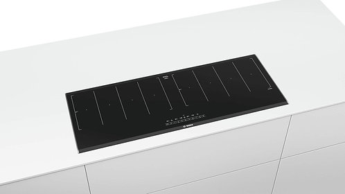 Bosch PXX275FC1E 90cm Flex Induction hob - Black Glass