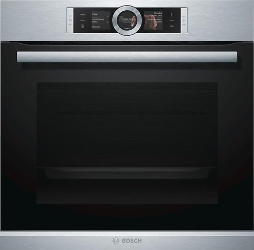 Bosch HRG6769S6B stainless steel Serie 8 pyrolitic single oven