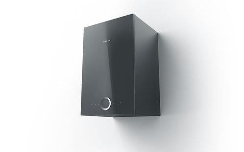 Bosch DWI37RU60B 33cm Wide Wall Mounted Chimney Hood Cube Design - Black