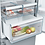 Thumbnail: Bosch KGN36XI35G Serie 4 60/40 Frost Free Fridge Freezer - Stainless Steel