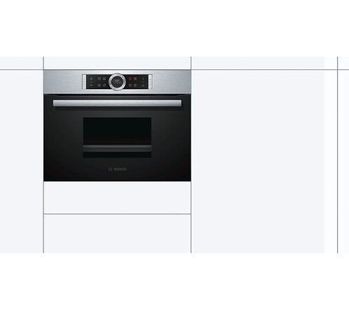 BOSCH CDG634BS1B Compact Electric Steam Oven - Stainless Steel