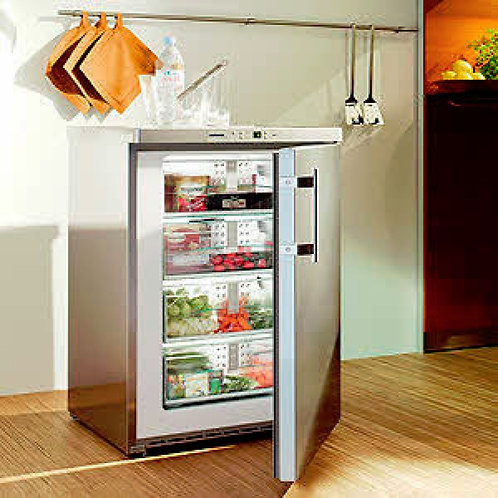 Liebherr GPESF1476 60cm Wide Freestanding Upright Freezer - Stainless Steel GPES