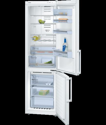Bosch KGN39XW32G White No Frost Freestanding Fridge Freezer - KGN39XW32G