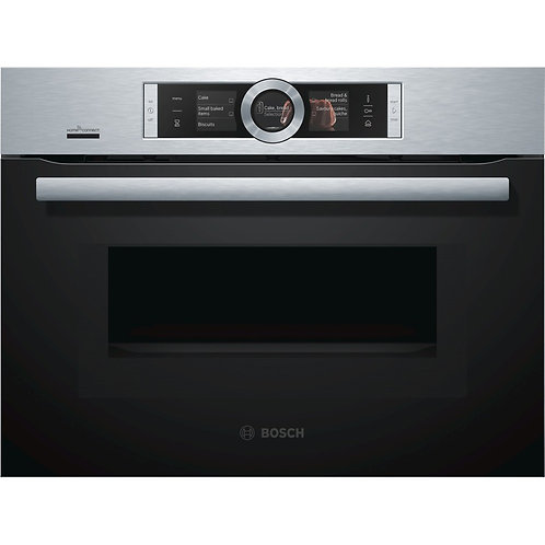 BOSCH CNG6764S6B Built-in Smart Combination Microwave - Stainless Steel