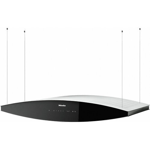 Miele DA 7006 D Aura Island cooker hood - Black
