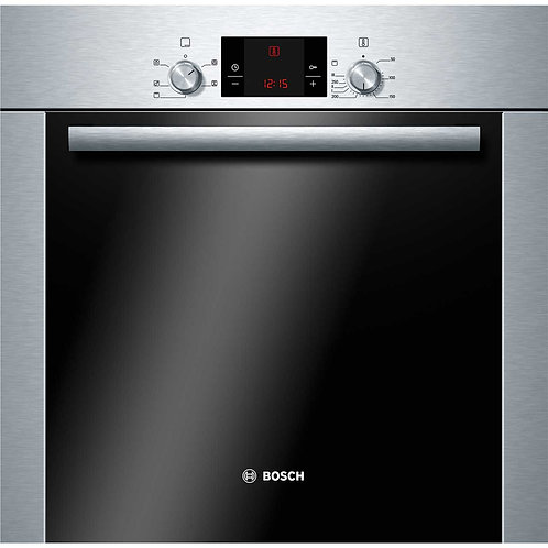 Bosch Serie 6 HBA13B253B Built In Electric Single Oven - Brushed Steel