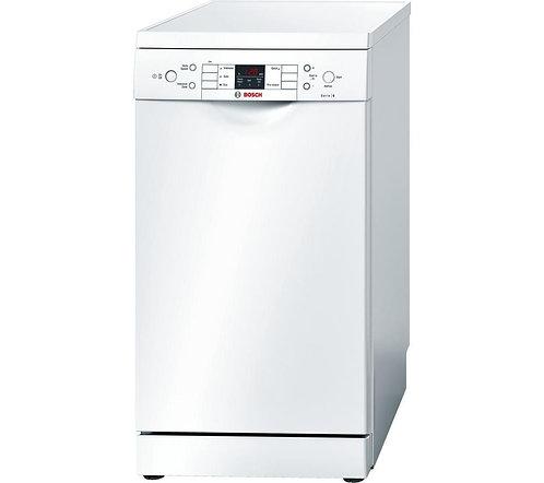 BOSCH SPS59T02GB Serie 6 Slimline Dishwasher - White