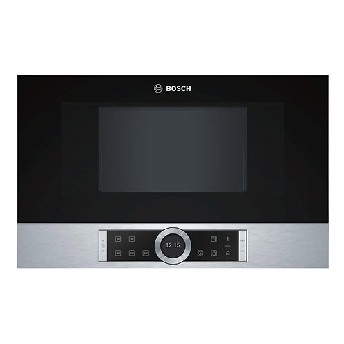 BOSCH BFL634GS1B Built-in Solo Microwave - Stainless Steel