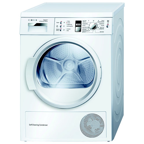Bosch Exxcel 7 WTW863S1GB Front-Loading Electric Dryer
