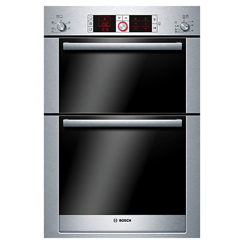 BOSCH Serie 6 HBM56B551B Electric Double Oven - Stainless Steel
