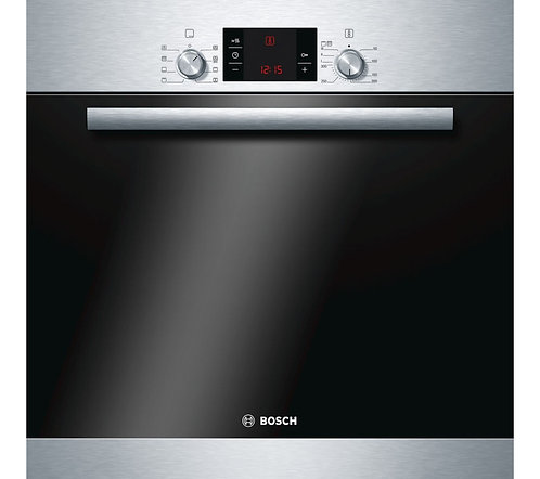 BOSCH HBA63B150B Serie 6 Pyrolytic Electric Oven - Stainless Steel