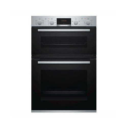 BOSCH Serie 4 MBS533BS0B Electric Double Oven - Stainless Steel