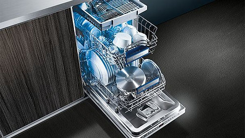 Siemens SR66T090GB Built In Fully Int. Slimline Dishwasher