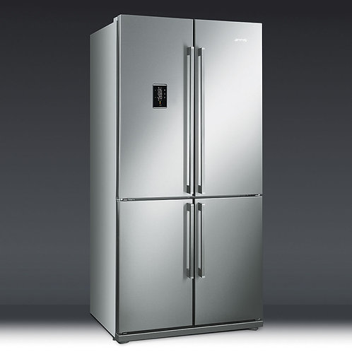 Smeg FQ60XPE American Style Four Door Fridge Freezer – STAINLESS STEEL