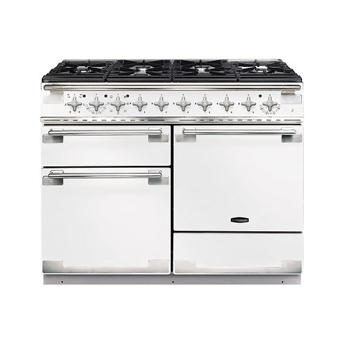 Rangemaster ELS110DFFSS Elise Stainless Steel with Brushed Chrome Trim 110cm Dua