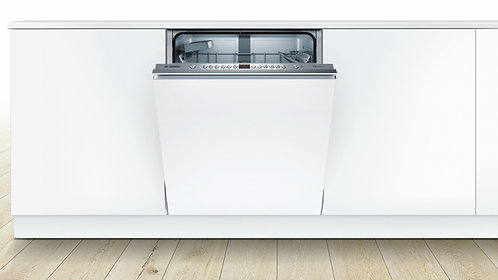 BOSCH Serie 4 SMV46IX00G Full-size Integrated Dishwasher - Silver