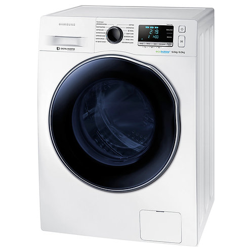 SAMSUNG WD6000 Washer Dryer with ecobubble™, 9 kg