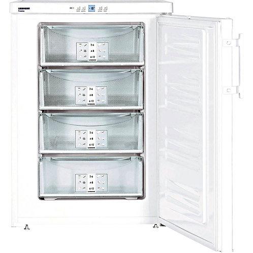 Liebherr GP1476 60cm Freestanding Undercounter Freezer - WHITE
