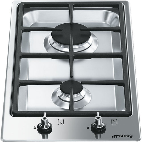 Smeg PGF32G 30cm Domino 2 Burner Ultra