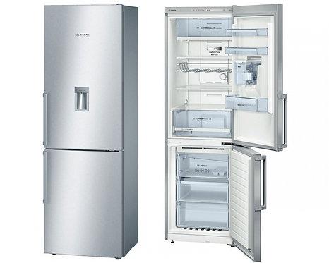 BOSCH KGD36VI30G Serie 4 Fridge Freezer - Silver
