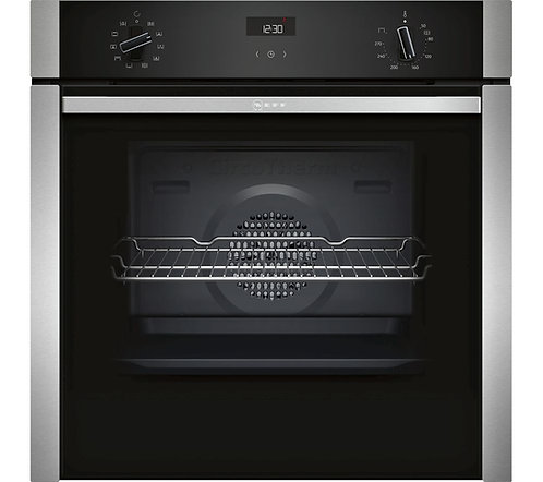 NEFF B3ACE4HN0B Slide and Hide Electric Oven - Stainless Steel