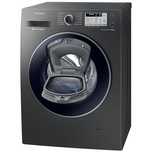 SAMSUNG WW90K5410UX AddWash Washing Machine - Graphite