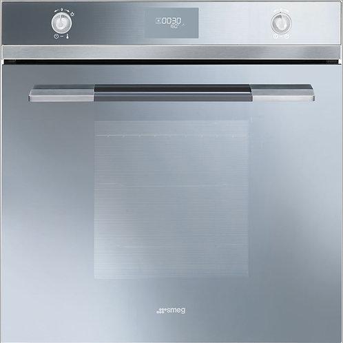 Smeg SF109S silver glass Linea electric single oven