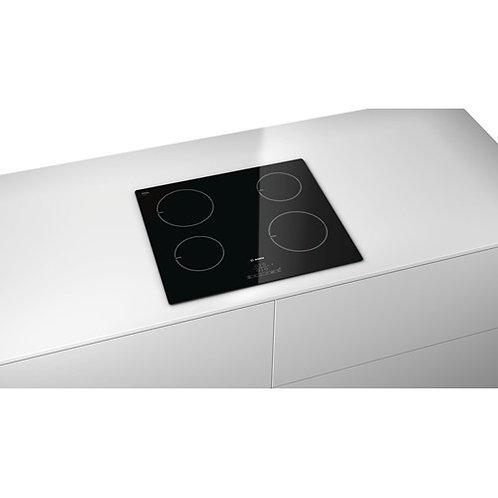 Bosch PIA611B68B 592mm 4 Zone Ceramic Induction Hob in Black Glass