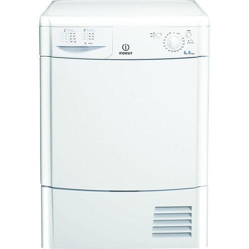 Indesit IDC8T3B Eco Time Condenser Tumble Dryer - White