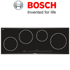 Bosch Logixx PIE975N14E 90cm Induction Hob with Stainless Steel Trim