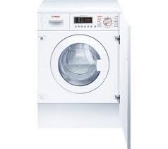 BOSCH WKD28541GB Integrated Washer Dryer - White