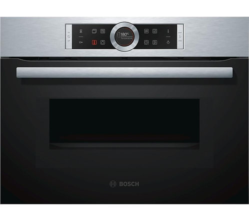 BOSCH CMG633BB1B Built-in Combination Microwave - Black