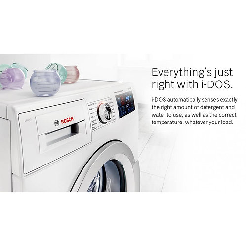 BOSCH Serie 6 WAT28661GB 8 kg 1400 Spin Washing Machine - White