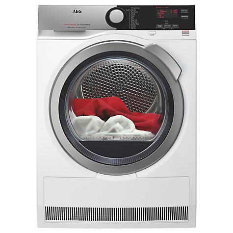AEG T7DBE831R Condenser Dryer