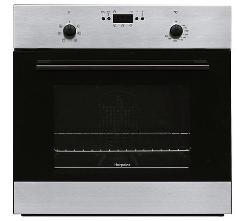 Hotpoint MMY50IX Built In Electric Single Oven - Stainless Steel