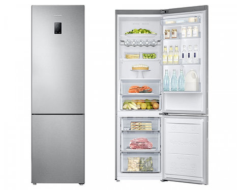 Samsung RB37J5230SA/EU 60cm Frost Free Fridge Freezer in Metal Graphite