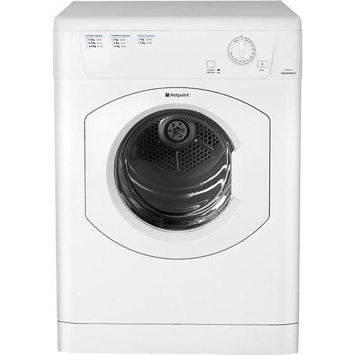 Hotpoint Aquarius TVHM80CP 8kg Vented Tumble Dryer in White