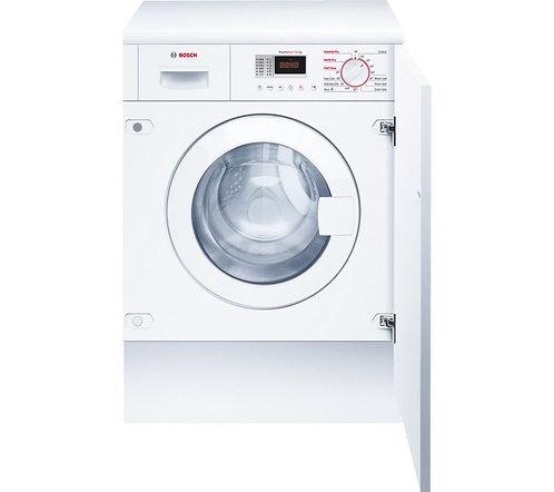BOSCH WKD28351GB Integrated Washer Dryer - White