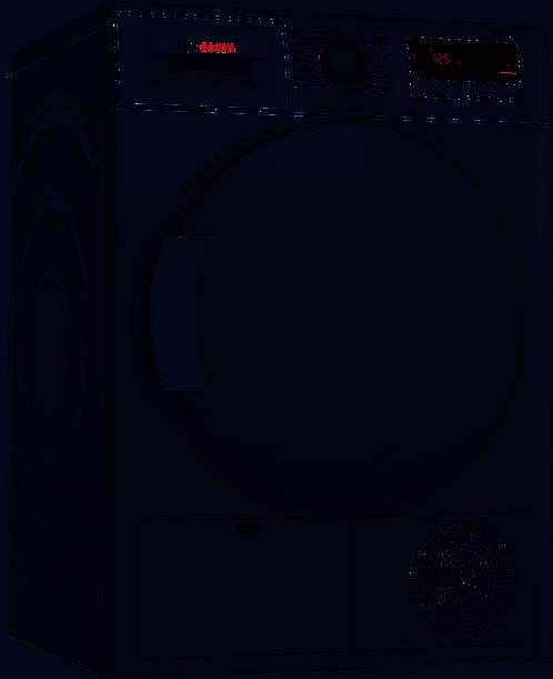BOSCH WTN83200GB Serie 4 Condenser Tumble Dryer - White