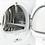 Thumbnail: BOSCH Serie 8 WTWH7560GB Heat Pump Smart Tumble Dryer - White