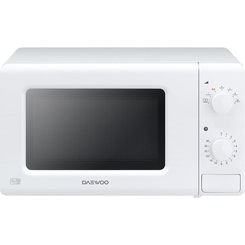 Daewoo KOR6M17R 17L 700W Microwave Oven - White KOR6M17R