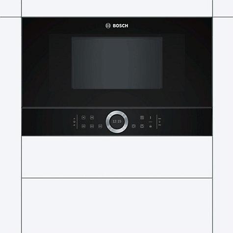 BOSCH BFL634GB1B Built-In Solo Microwave - Black